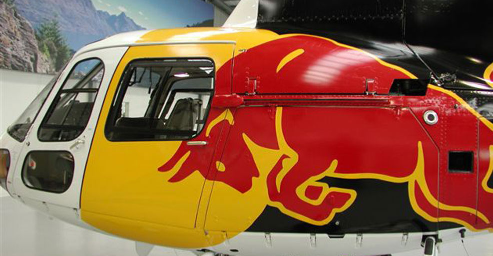 Custom Printed Helicopter Branding & Graphics